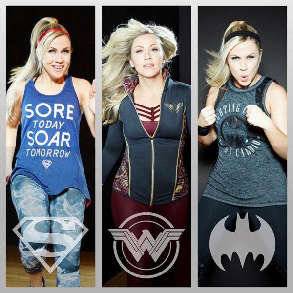 Roupas esportivas DC Comics: Mulher Maravilha, Batman e Superman