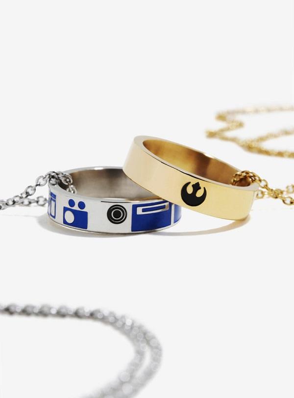 Colares de melhores amigos R2-D2 e C-3PO