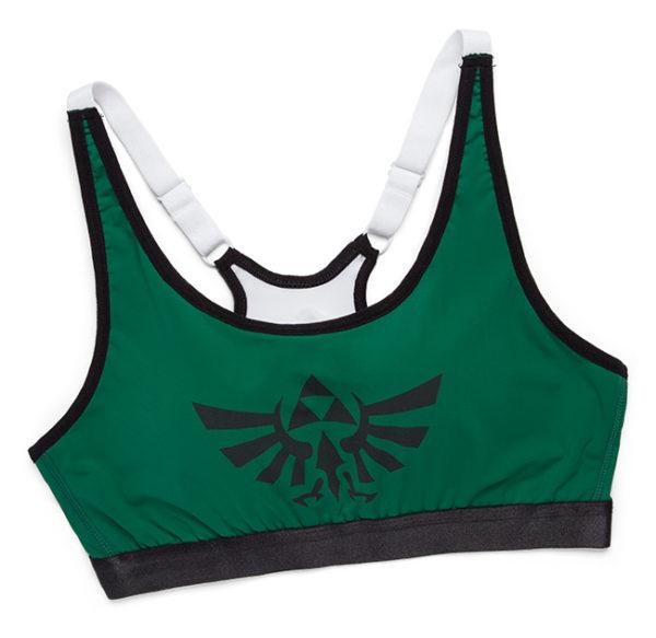 Conjuntos esportivos de Zelda e Spider-Man