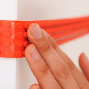 Fita LEGO permite transformar qualquer superfície compatível com LEGO