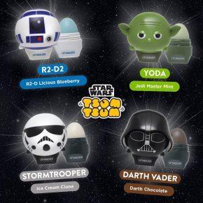 Lipsmacker lança coleção de protetores labiais de Star Wars