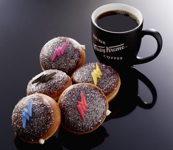 Parceria entre Lionsate e Krispy Kreme traz donuts Power Rangers