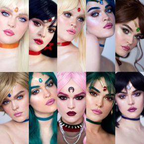 Artista cria maquiagens inspiradas em Sailor Moon