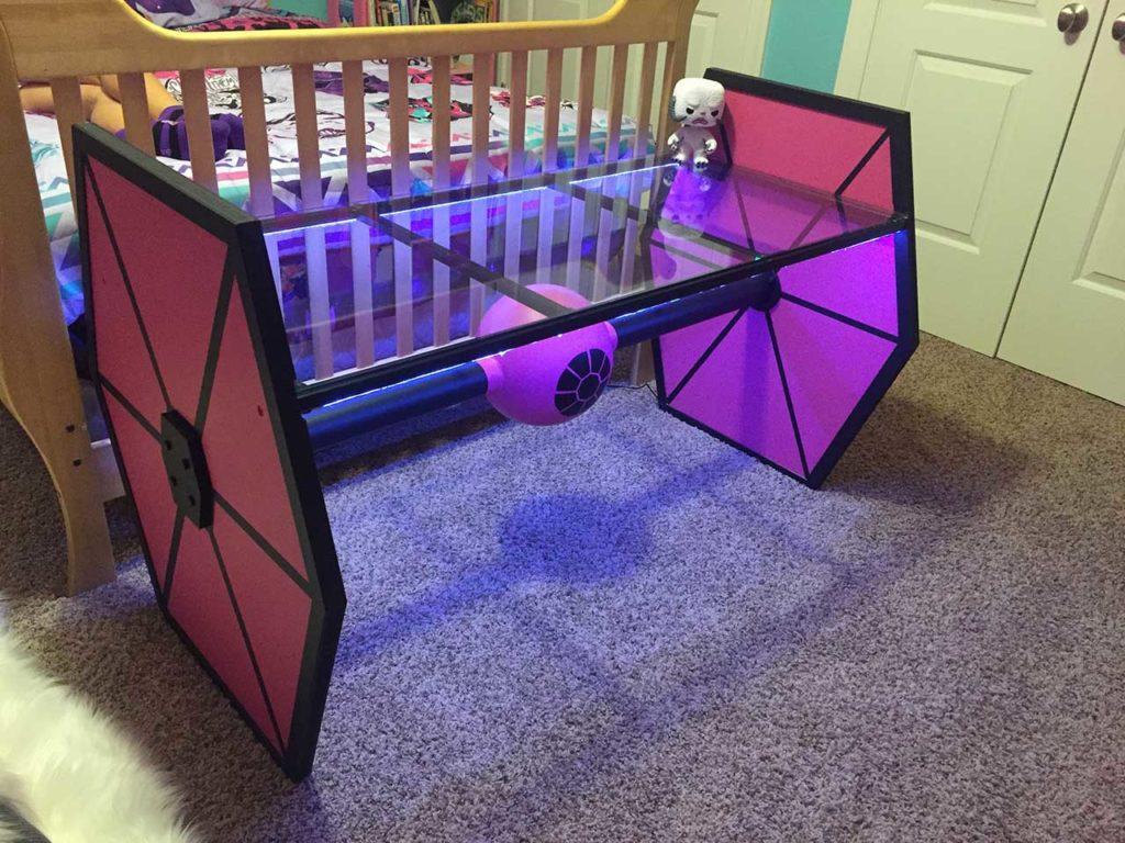 Fã de Star Wars cria decoração do quarto inspirada na saga