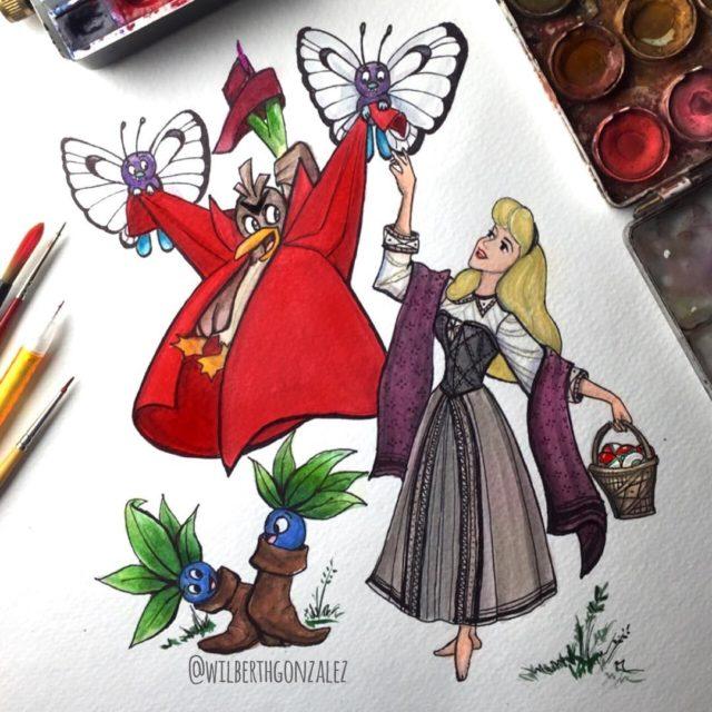 Princesas da Disney mostram que são ótimas colecionadoras de Pokémons