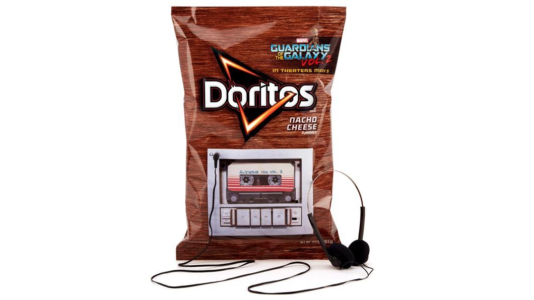 """Doritos lança embalagem com trilha sonora de """"Guardiões da Galáxia Vol. 2"""""""