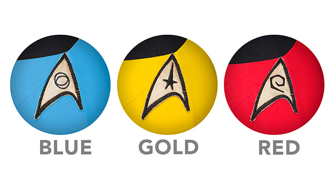 Roupas de banho inspiradas nos uniformes de Star Trek