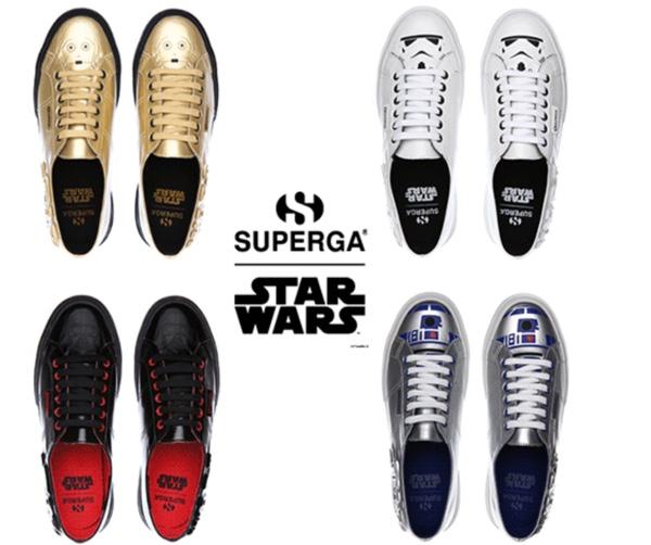 Marca italiana lança coleção de tênis Star Wars