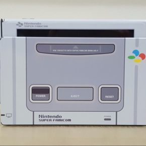 Coreano cria Nintendo Switch customizado do Super Famicom