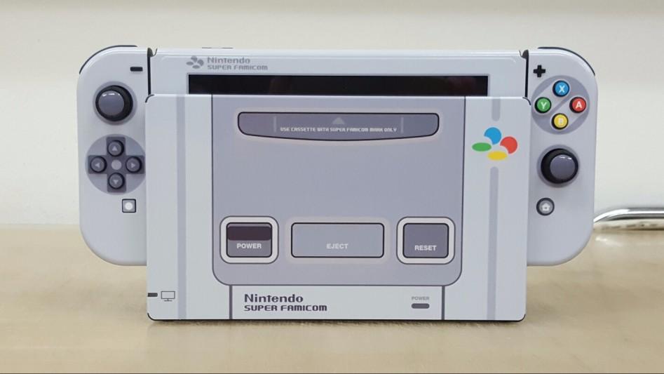 Coreano cria Nintendo Switch customizado do Super Famicom