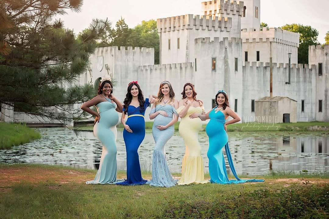 Ensaio fotográfico materno inspirado em Princesas da Disney