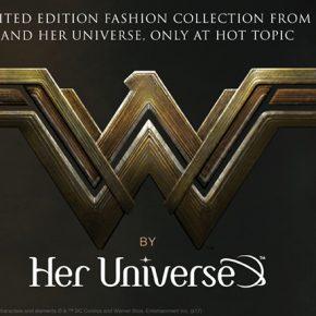 Her Universe divulga nova coleção Mulher Maravilha