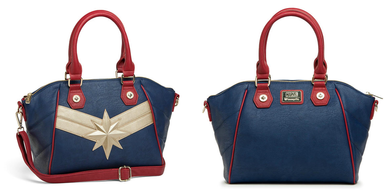 Bolsas e carteiras Capitã Marvel e Agente Carter