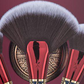 Kit de pincéis de maquiagem Mulher Maravilha
