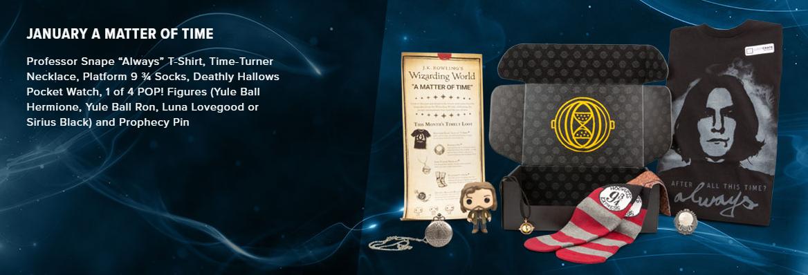 Loot Crate cria assinatura para os fãs de Harry Potter e Animais Fantásticos e Onde Habitam