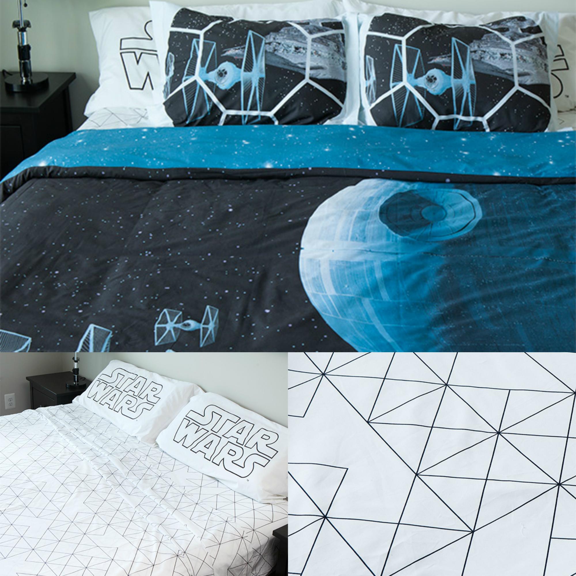 Transforme sua cama em uma galáxia distante com jogos cama Star Wars