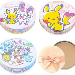 Coleção de cosméticos e acessórios Pokémon