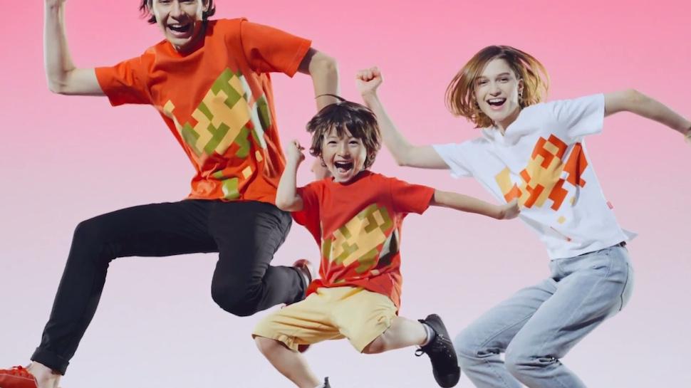 Marca japonesa Uniqlo divulga estampa vencedora em concurso da Nintendo