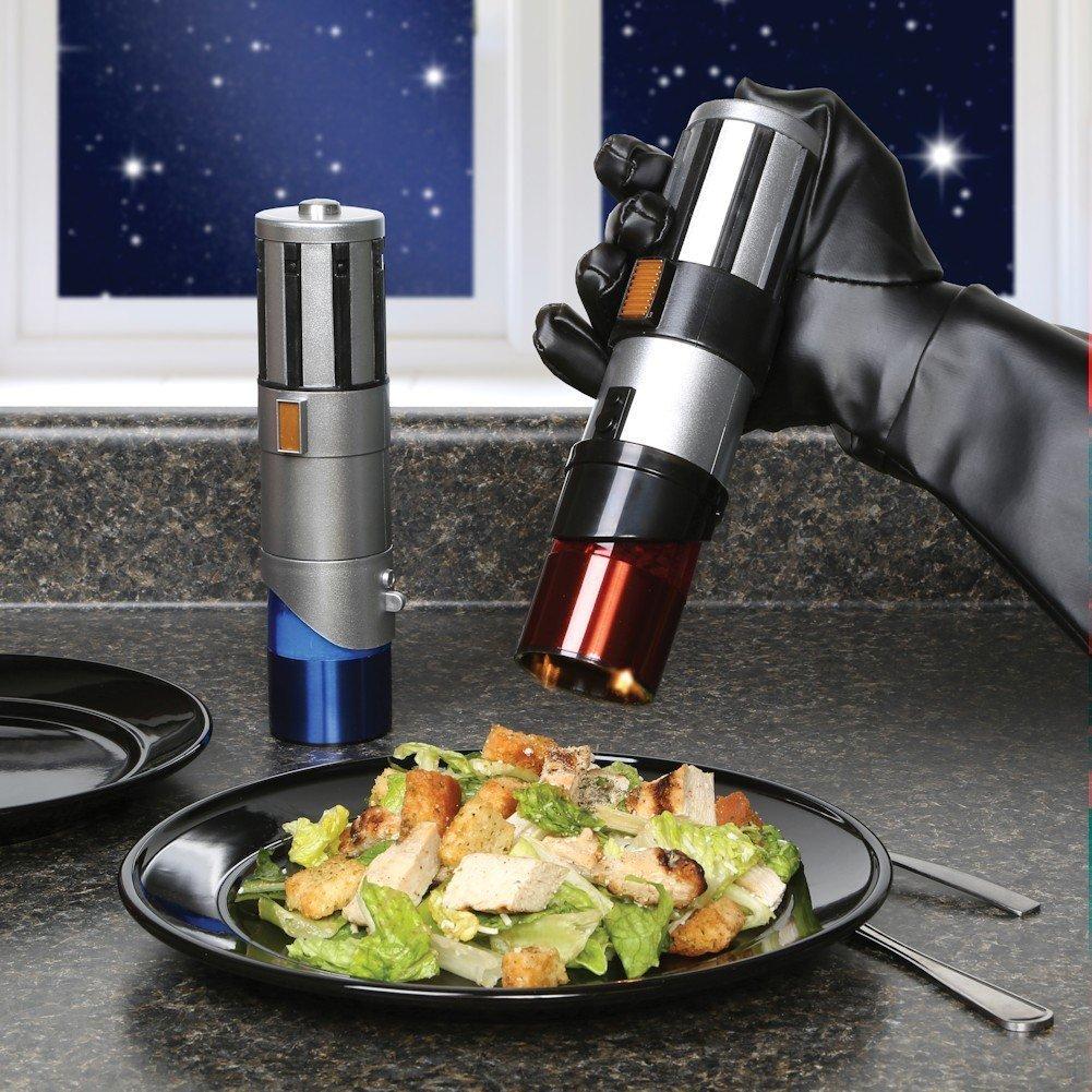 Tempere as suas refeições com o lado negro da força utilizando esses trituradores