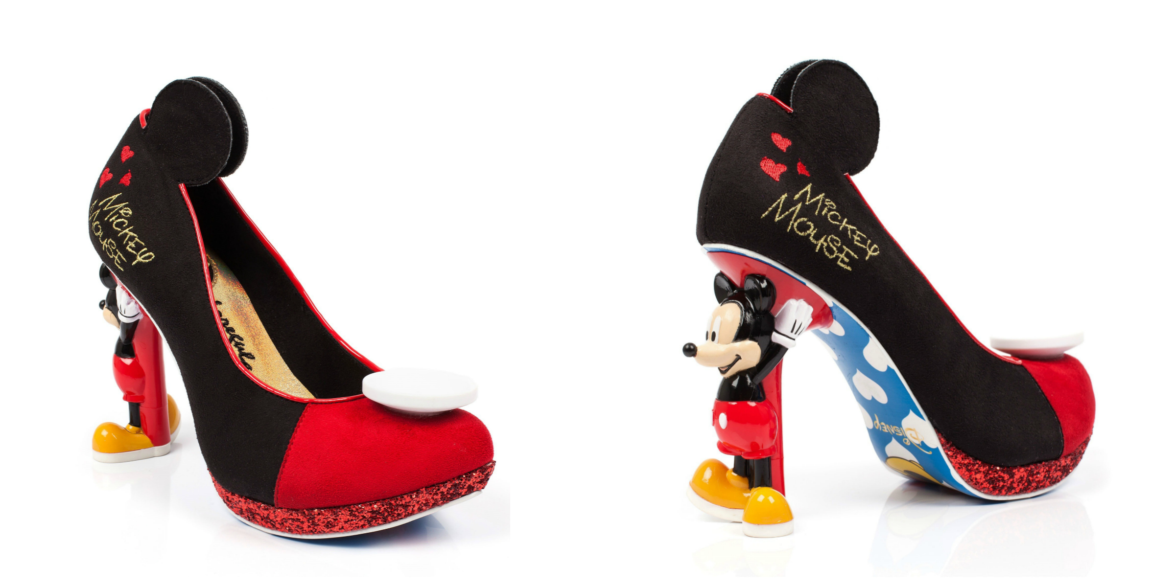 Coleção de sapatos Irregular Choice traz diversão da Disney para os seus pés