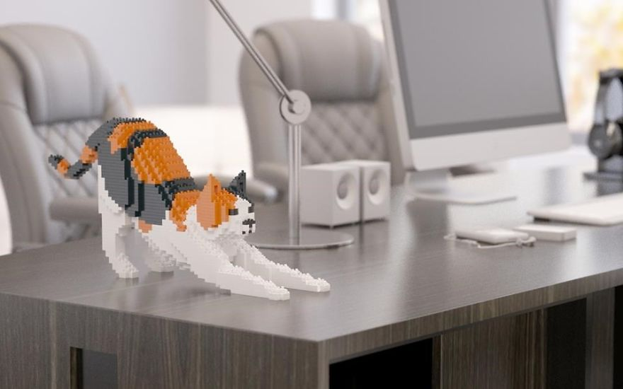 Empresa chinesa cria pets usando peças de LEGO