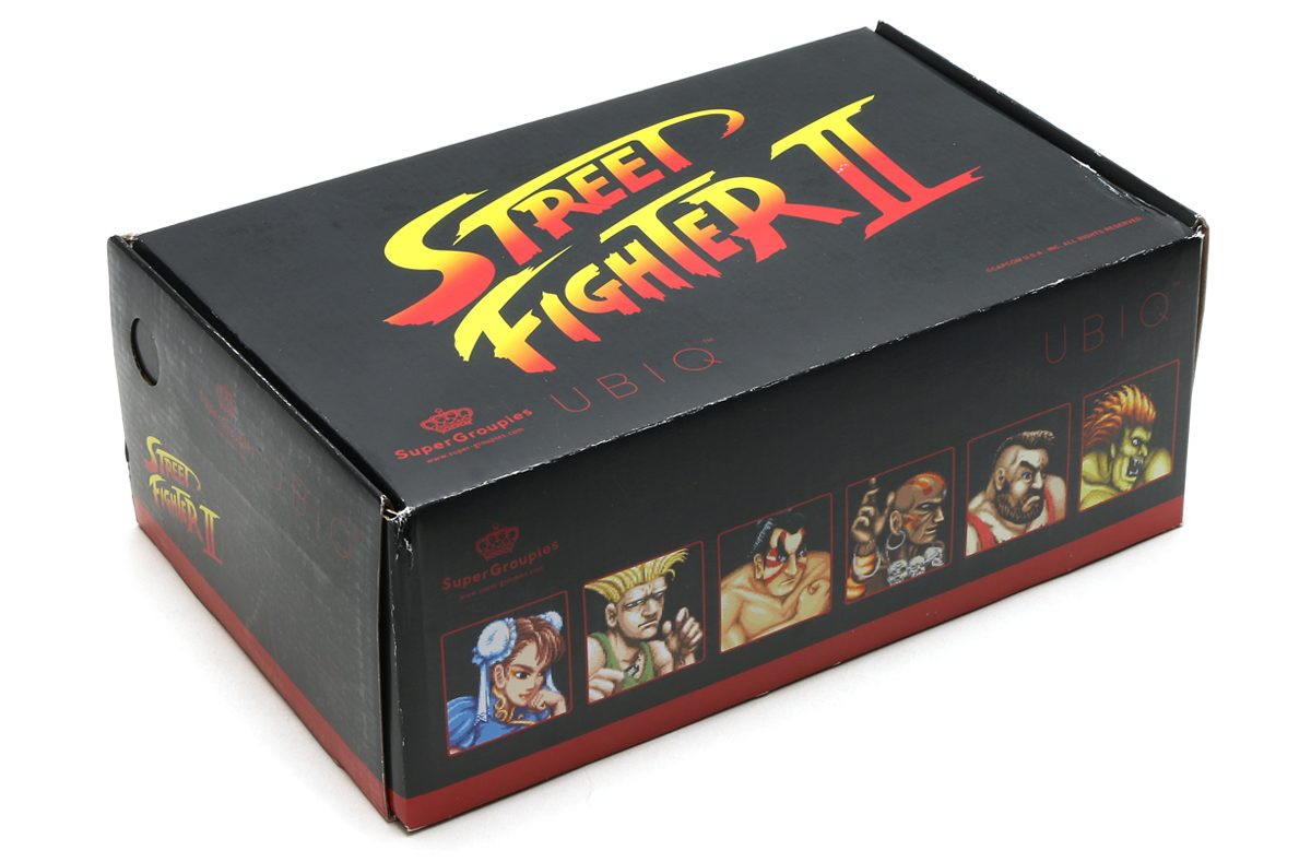 Capcom lança coleção de tênis MegaMan,Street Fighter e outros games nostálgicos