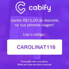 Cupom de desconto Cabify Agosto de 2017