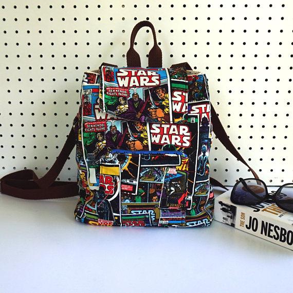 Americana cria lindas bolsas artesanais de Star Wars