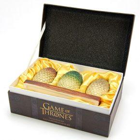 Kit saleiro e pimenteiro Game of Thrones: ovos de dragão na sua mesa!