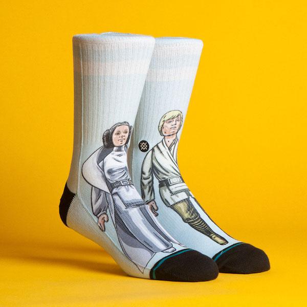 Coleção de meias Star Wars