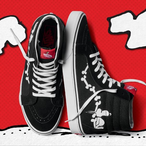 Vans lança coleção para os fãs de Peanuts