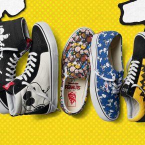 Vans lança coleção com Snoopy e outros personagens de Peanuts