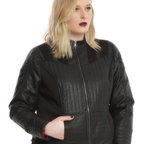 Uma jaqueta diretamente do Lado Negro da Força