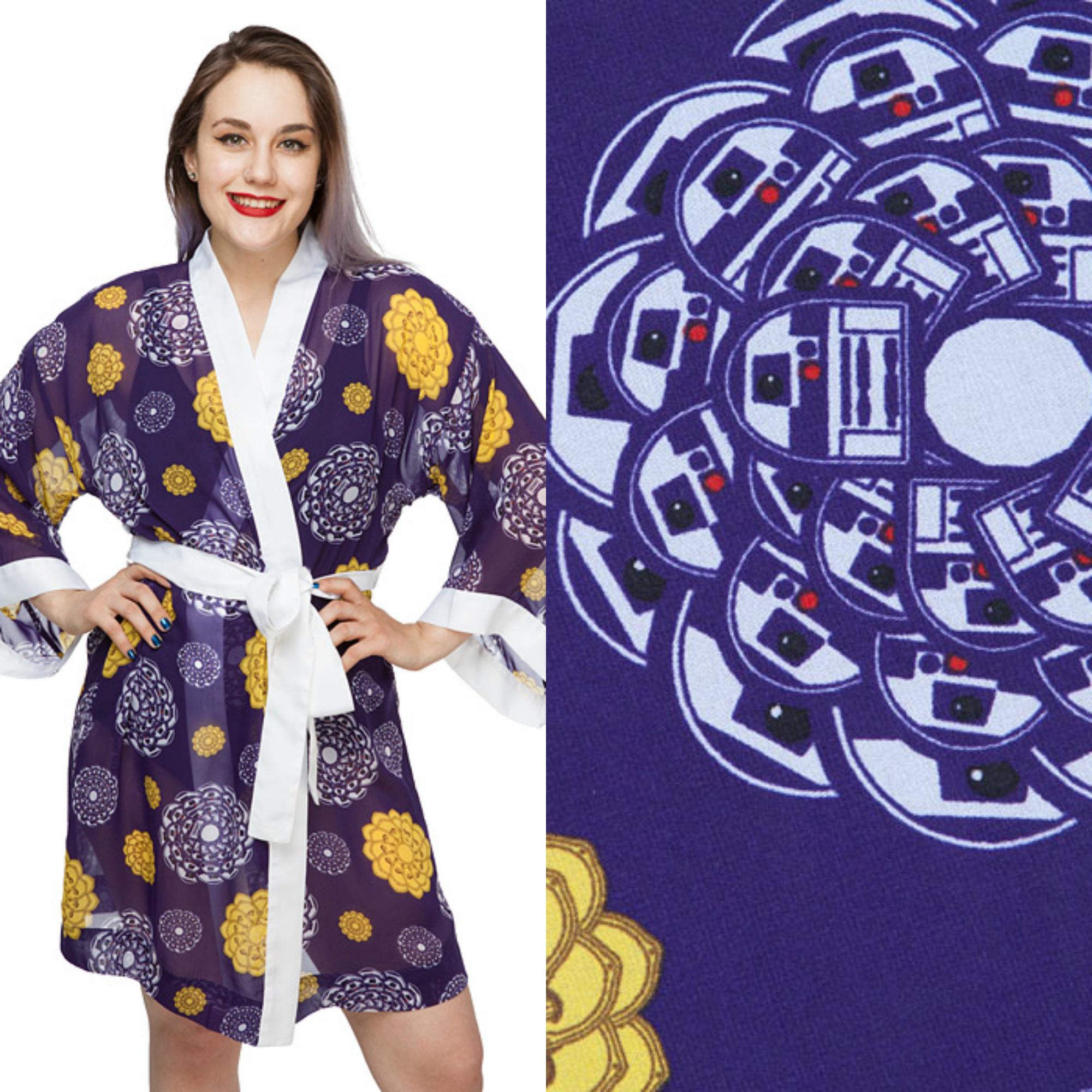 Coleção de robes nerds deixa você mais elegante e confortável!