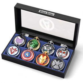 Bradford Exchange lança coleção de relógios de bolso para os fãs de Os Vingadores