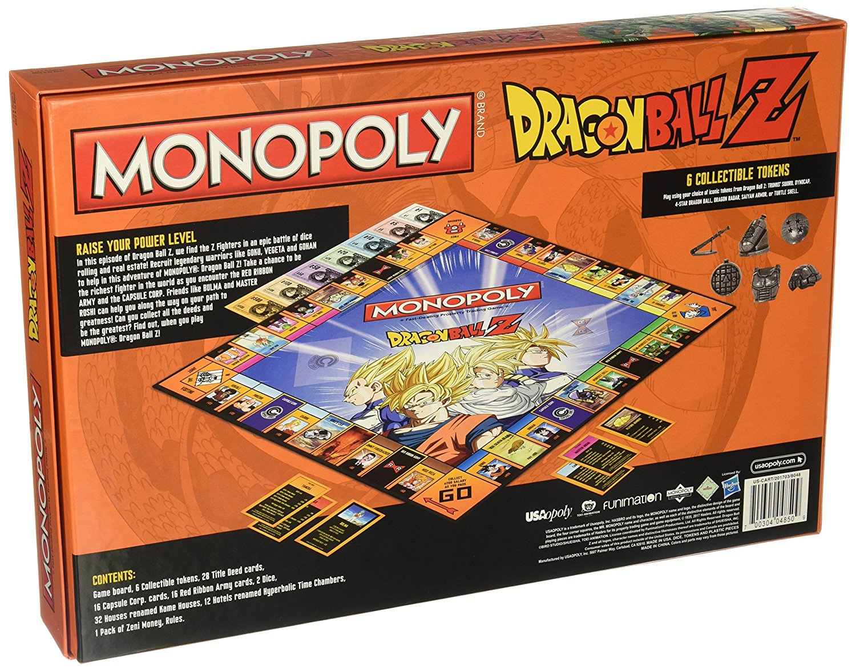 Uma fusão entre Monopoly e Dragonball Z: Hasbro lança jogo de tabuleiro temático de anime