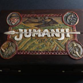 Fã de Jumanji cria jogo de tabuleiro inspirado no filme