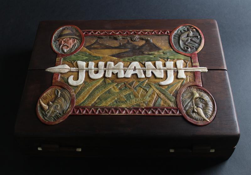 Fã de Jumanji cria jogo de tabuleiro exatamente igual a versão do filme