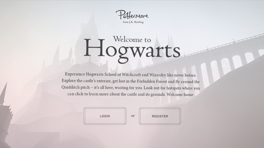 Site de Harry Potter transporta fãs para Hogwarts