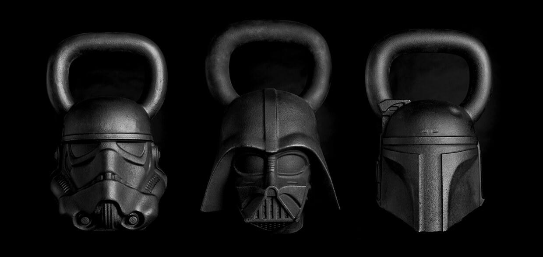 Marca fitness lança coleção de equipamentos inspirados em Star Wars