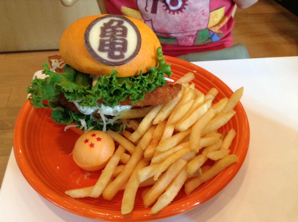 Restaurante japonês cria hambúrguer inspirado em Dragon Ball