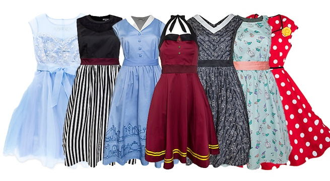 Vestidos Disney estilo retrô