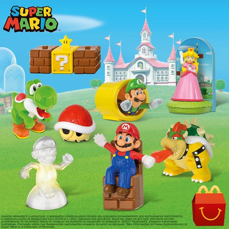 McDonald's lança nova coleção de surpresas Super Mario