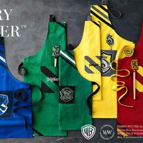 Harry Potter: utensílios de cozinha temáticos das Casas de Hogwarts