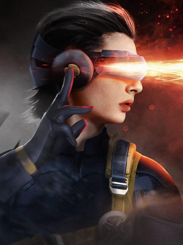 Personagens de Stranger Things como os X-Men