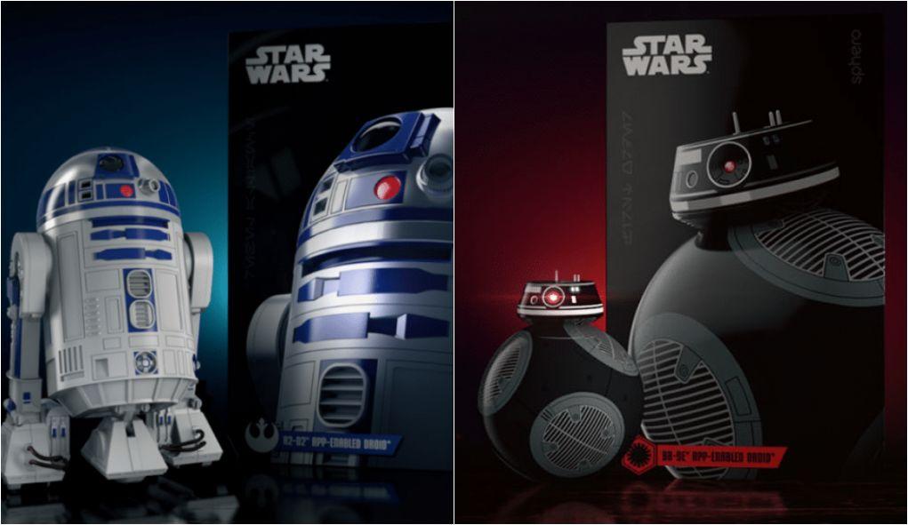 Sphero lança R2-D2 e BB-9E controlados por aplicativo