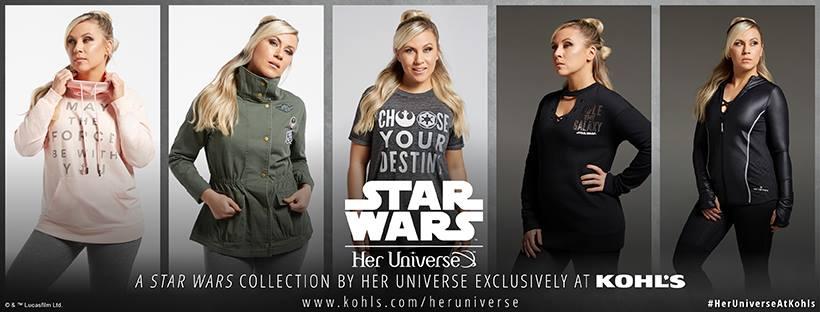 Her Universe lança coleção Star Wars: Os Últimos Jedi