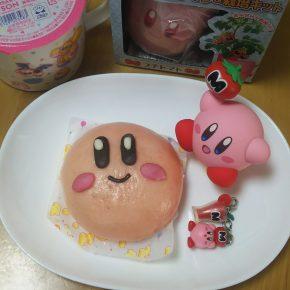 Pãezinhos em formato de Kirby!
