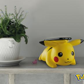 Carregador sem fio Pikachu acende as bochechas!