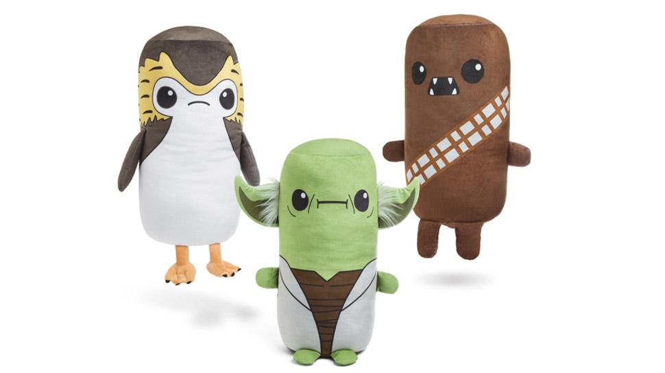 "Almofadas Star Wars: as mais fofas e ""abraçáveis"" da galáxia"